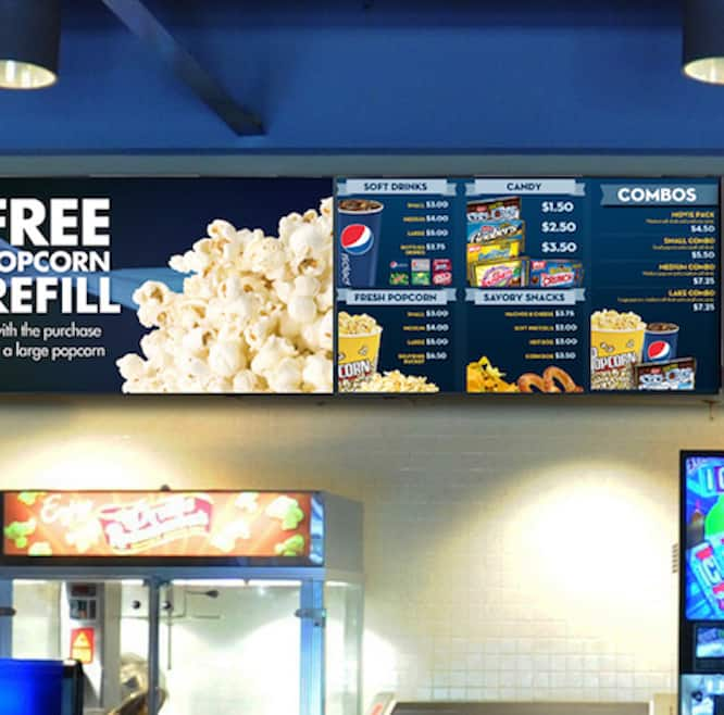 Cinema-Digital-Signage-Menu-Boards Cinema Digital Signage